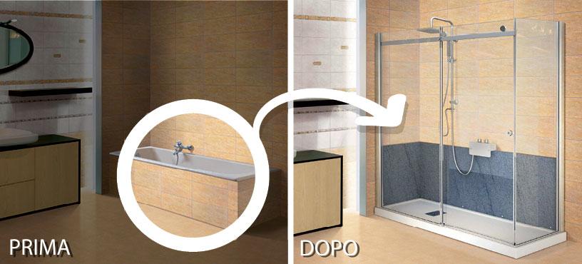 box doccia per sostituzione vasca incluso piatto : Seduta Per Piatto Doccia : Box Doccia per Sostituzione Vasca Incluso ...