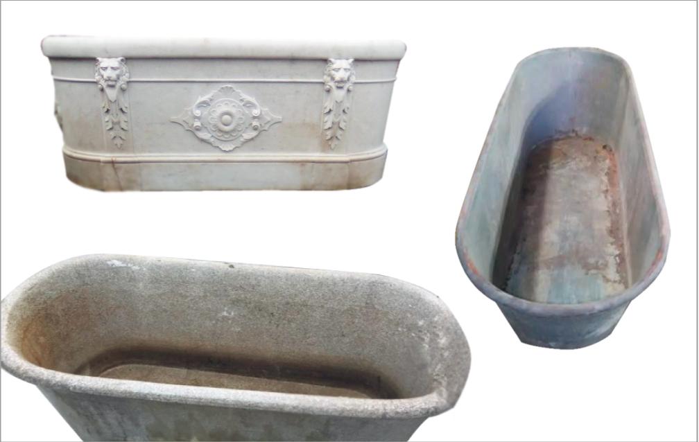 Vasche Da Bagno Antiche : La vasca da bagno storia ed evoluzione