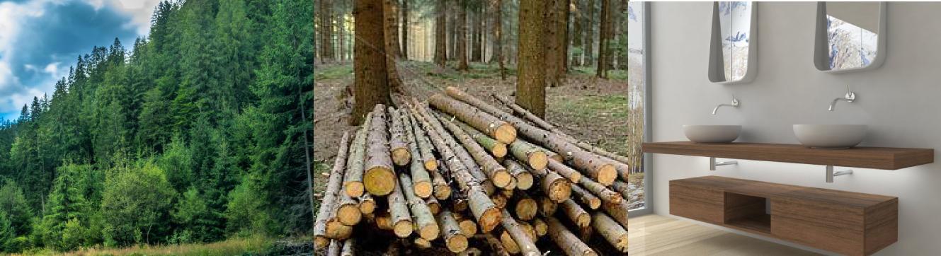legno di abete mobili