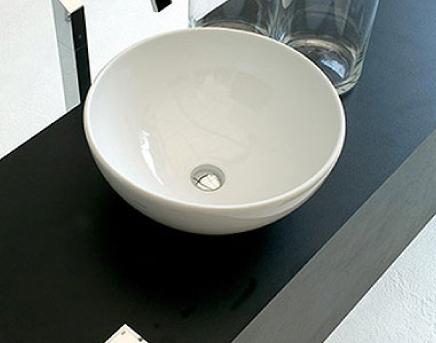 lavabo moderno senza troppopieno