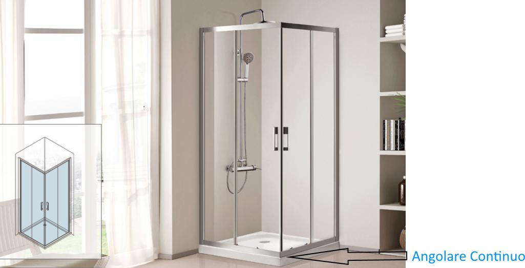 Cabine Doccia Cristallo : Box doccia in vetro satinato cabine doccia cristallo satinato su