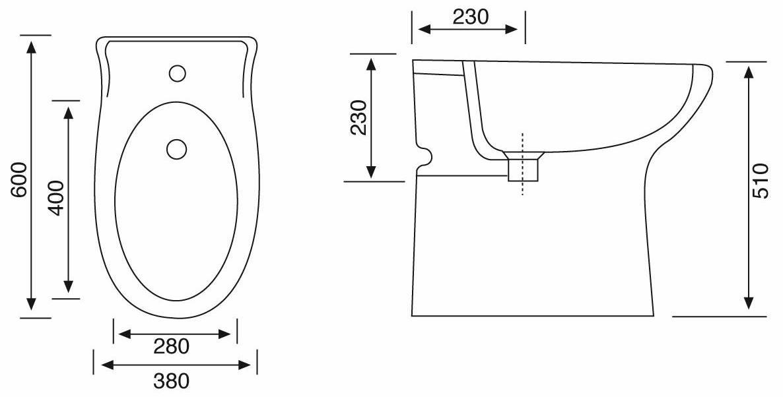 Good pu una valida alternativa estetica ai normali sanitari da istallare nel bagno padronale - Vasca da bagno altezza ...