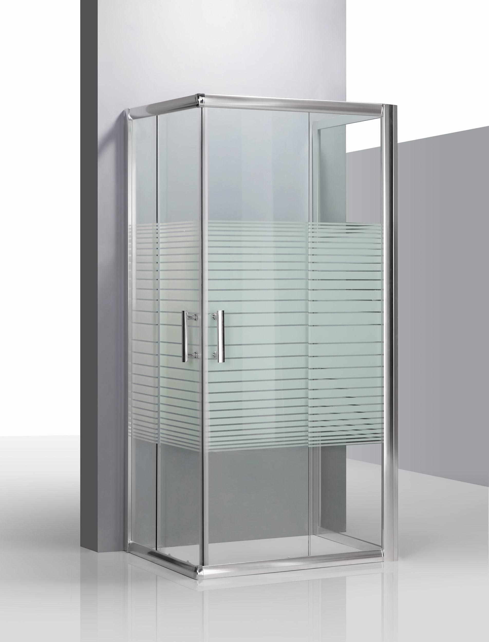 Box doccia da centro stanza cristallo temperato 6 mm for Pannelli doccia bricoman