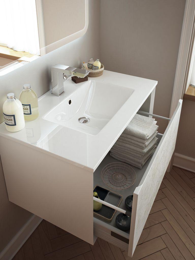 Mobili da bagno ad angolo cheap ispirazione per una for Mobili bagno vintage
