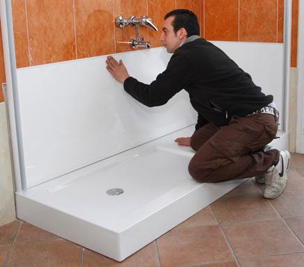 Trasformare vasca in box doccia vendita online italiaboxdoccia - Trasformare vasca da bagno in doccia prezzo ...