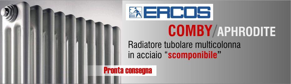 Radiatore multicolonna ErcosComby 3/1000 in acciaio a 3 colonne