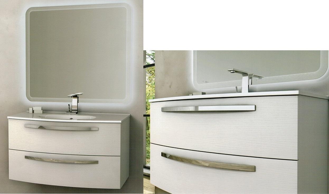 Baden haus mobile da bagno james sospeso da 100 cm - Mobile da bagno sospeso ...