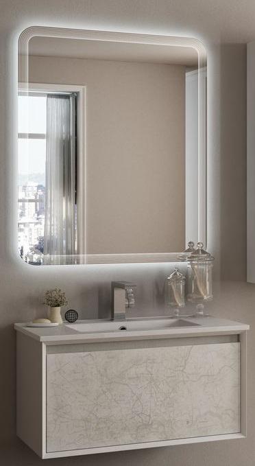 Baden haus mobile da bagno sospeso 75 cm venus stile vintage - Mobili bagno vintage ...