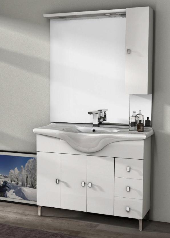 Beautiful mobili bagno a terra pictures idee arredamento for Mobile bagno da terra