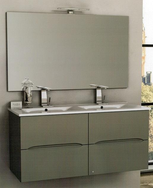 Baden haus mobile da bagno 100 cm sospeso for Mobile bagno dimensioni