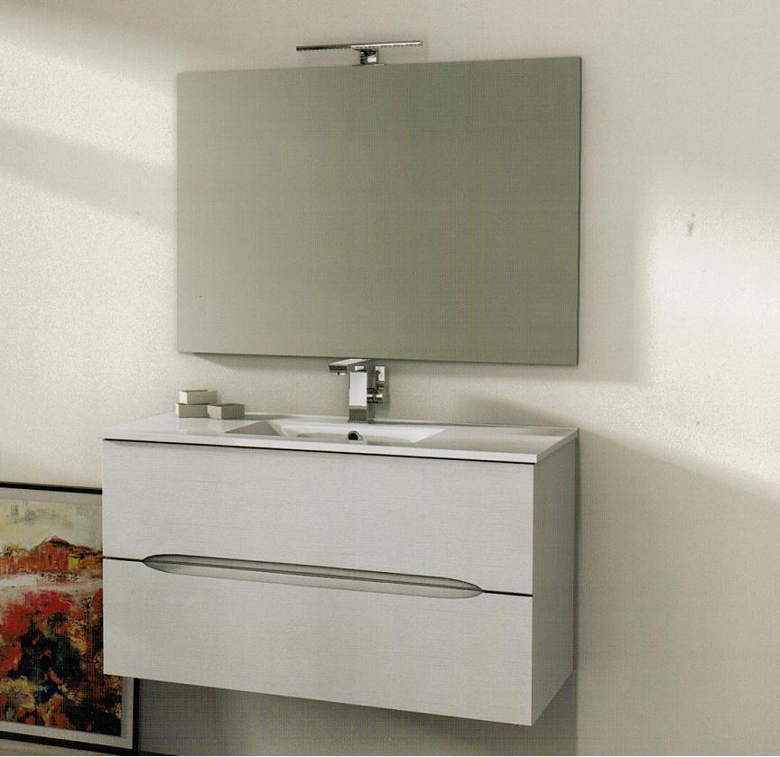 Baden haus mobile da bagno 60 cm panama frassino bianco - Specchiera bagno amazon ...