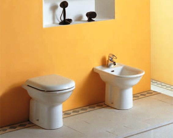 Vasca Da Bagno Pozzi Ginori Prezzo : Vaso e bidet ydra pozzi ginori completo di sedile vendita online