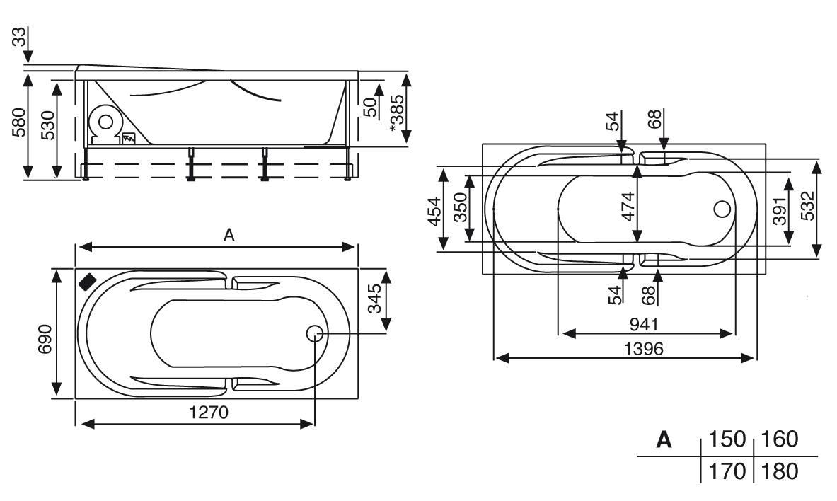vasca da incasso 150x70 vetroresina vendita online italiaboxdoccia vasca da bagno misure standard