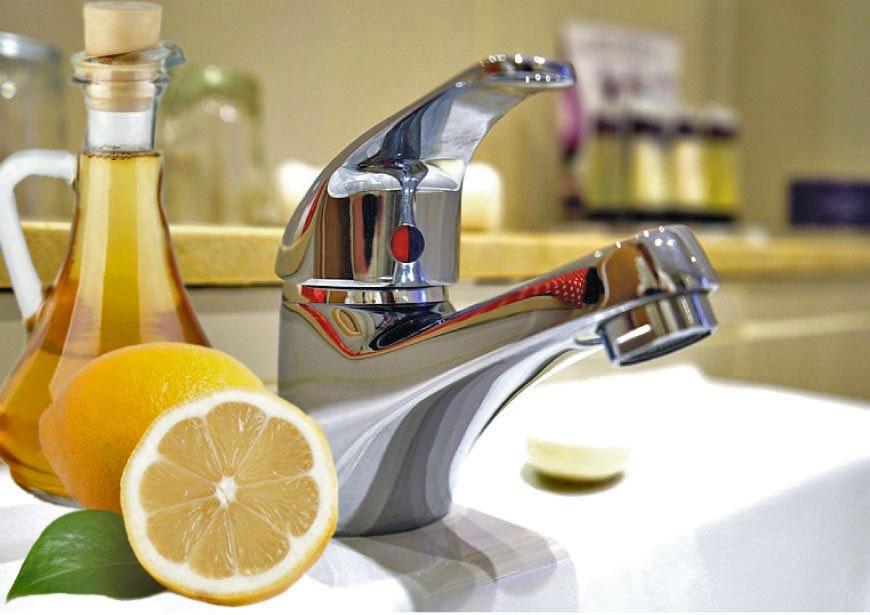 Il segreto per pulire i rubinetti del bagno i rimedi naturali